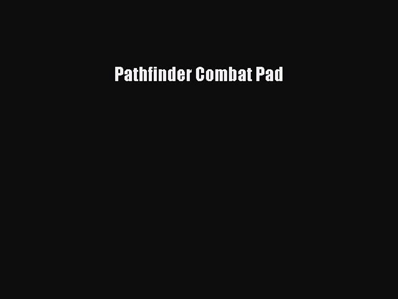 Read Pathfinder Combat Pad Ebook Free