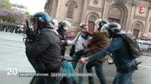Des journalistes de France 2 interpellés par les CRS ! Le zapping actu du 17052016 par lezapping