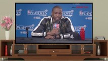 NBA Highlights 2016 | Dwyane Wade Postgame Interview | Heat vs Raptors | Game 1 | May 3, 2016 | NBA