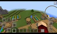 Minecraft PE: Desert, savana, plains and plains village seed review