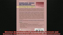 READ book  Wireless Mesh Networking Architectures Protocols and Standards Wireless Networks and Full EBook