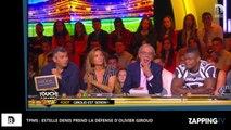TPMS : Olivier Giroud surpris avec une autre femme, Estelle Denis prend sa défense (Vidéo)