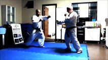 Eduardo Jacondino - Hapkido Jin Jung Kwan self defense punches - Paraná - Brasil - 2014
