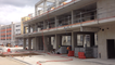 Visite du chantier de la nouvelle gare