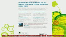 best book  CDL  Commercial Drivers License Exam CDL Test Preparation
