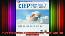 read here  CLEP Human Growth  Development Book  Online CLEP Test Preparation