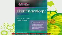 new book  BRS Pharmacology Board Review Series