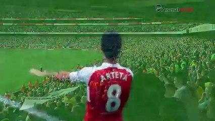 Muita emoção em despedida de jogador do Arsenal