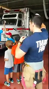 Great job by #Truro Fire Service with #Local Kids