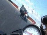 camera embarquee moto R6 circuit ledenon