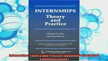 read here  Internships Theory And Practice Baywoods Technical Communications