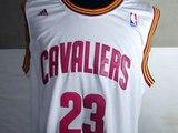 NBA Cleveland Cavaliers #23 James Revolution 30 NBA White Jerseys