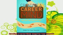 best book  Creating a Career Mind Steps For Your Success