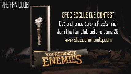 Win Alex's microphone (a fan club contest)