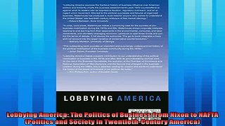 For you Lobbying America The Politics of Business