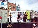 Immortal Kick en SAMBIL 24 7 11 con Stefany, Jaime y Carolina