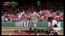 MLB® 15 The Show™ Angel's franchise gameplay ALDS game 3 @ BOS Redsox