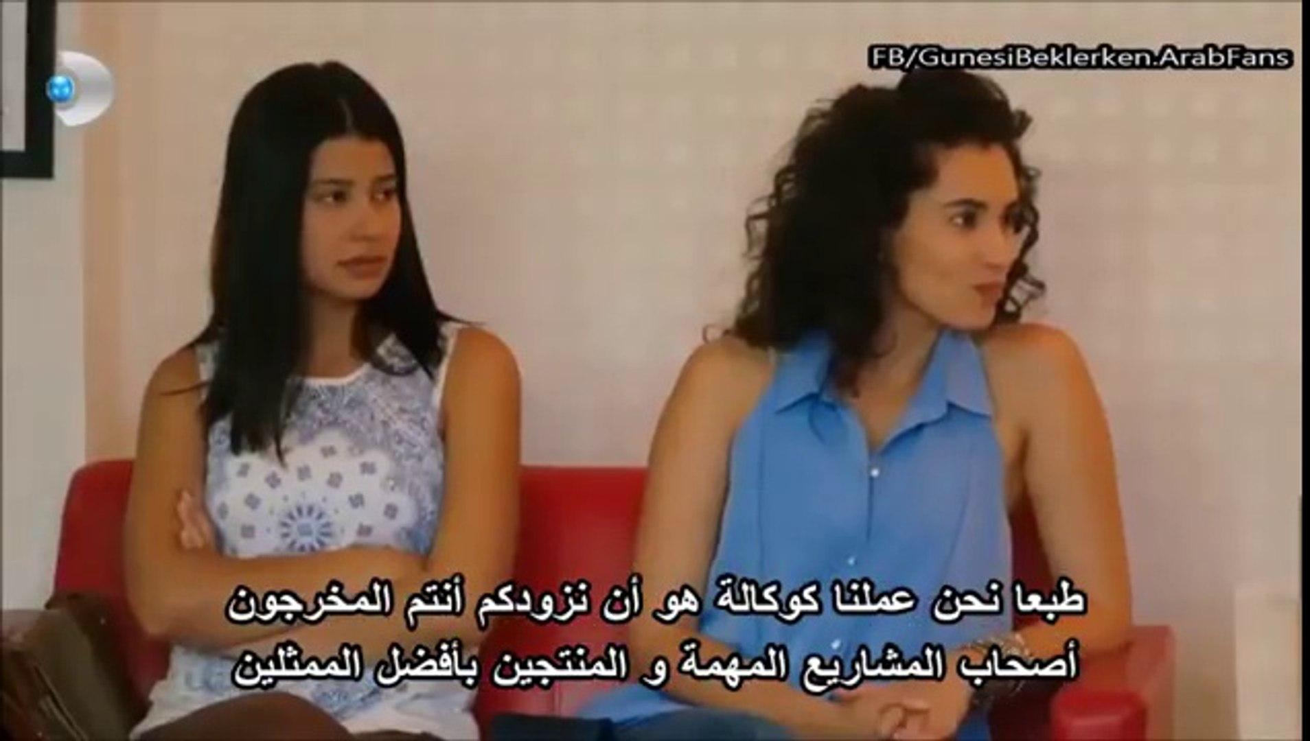 مسلسل ما وراء الشمس مشهد زينب و ياسمين و هم يبحثون عن ممثل