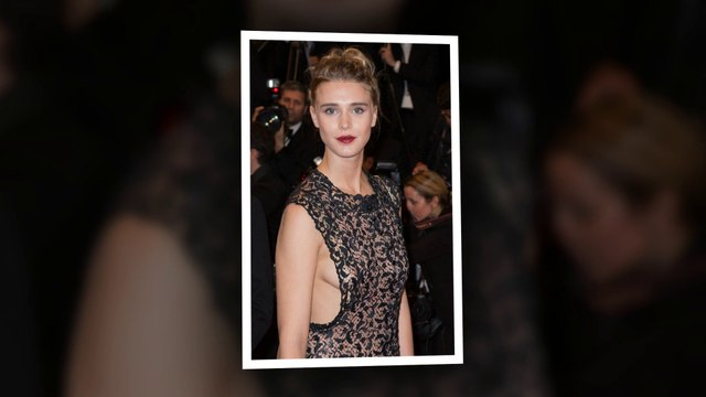 Gaia Weiss Flashes Major Sideb**b at Hands Of Stone Premiere in Cannes 2016