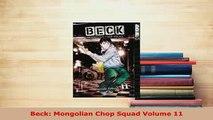 PDF  Beck Mongolian Chop Squad Volume 11 Read Online