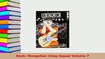 Download  Beck Mongolian Chop Squad Volume 7 Read Online