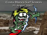 Surf Session 25-Aug-2007 (old video)