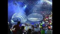 Mick Foley, The Rock, Chris Benoit, Undertaker, Kane, Triple H and Kurt Angle segment (SmackDown 14.9.2000)