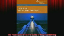 READ book  The Foundation Centers Guide to Proposal Writing Free Online