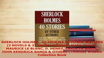 Download  SHERLOCK HOLMES  40 STORIES BY OTHER WRITERS 3 NOVELS  37 SHORT STORIES MARK TWAIN Free Books