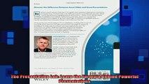 Downlaod Full PDF Free  The Presentation Lab Learn the Formula Behind Powerful Presentations Free Online