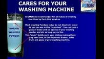 BIOMatic Washing Powder - saves 50% and cleans your washing machine drum