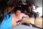 Viajan abarrotados a Pedro Juan Caballero.