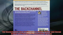 READ book  The Backchannel How Audiences are Using Twitter and Social Media and Changing Full EBook