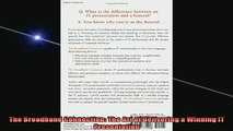 READ book  The Broadband Connection The Art of Delivering a Winning IT Presentation Full Free