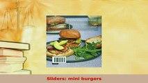Download  Sliders mini burgers PDF Full Ebook