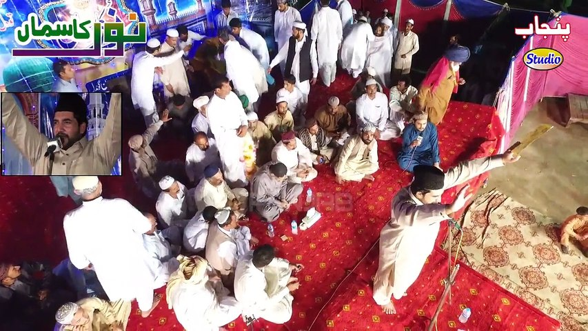Abid hussain Khayal Kalam Khudi Ka Sire Nihaan La Ila Ha (Alama iqbal)  Mahfil Naat Noor Ka Sama Jiwan Gondal 2016 Sipra Biradran Punjab Studio Drone Shot