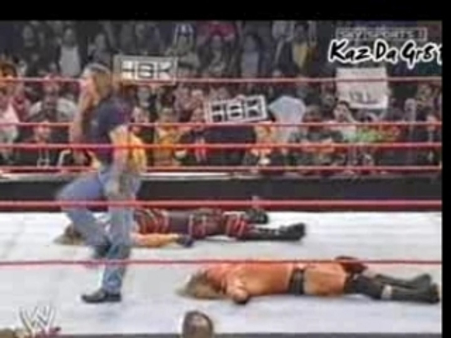 HBK Comes Out Of Coffin & Attacks Triple H