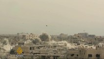 Syria war: Fighting continues in Homs, Aleppo