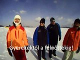 Rafting.hu, hórafting videó 2012 január 14-15 Kokava - Línia Slovakia, snow rafting..wmv