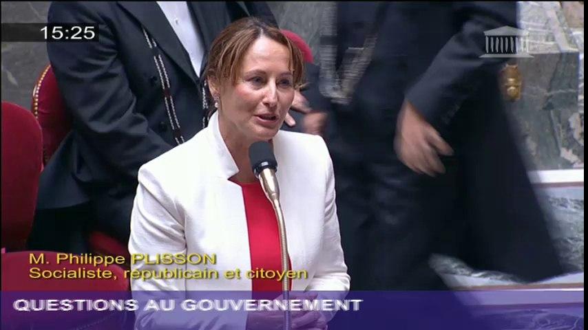 Ratification de l'Accord de Paris: S. Royal répond à une question au Gouvernement