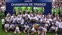 La Section Paloise championne de France de Pro-D2 de rugby