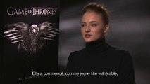 Game of thrones - SANSA (Sophie Turner) - Interview CinéFilou