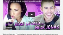 [Newsa] Watch Demi Lovato, Nick Jonas, and James Corden do Carpool Karaoke