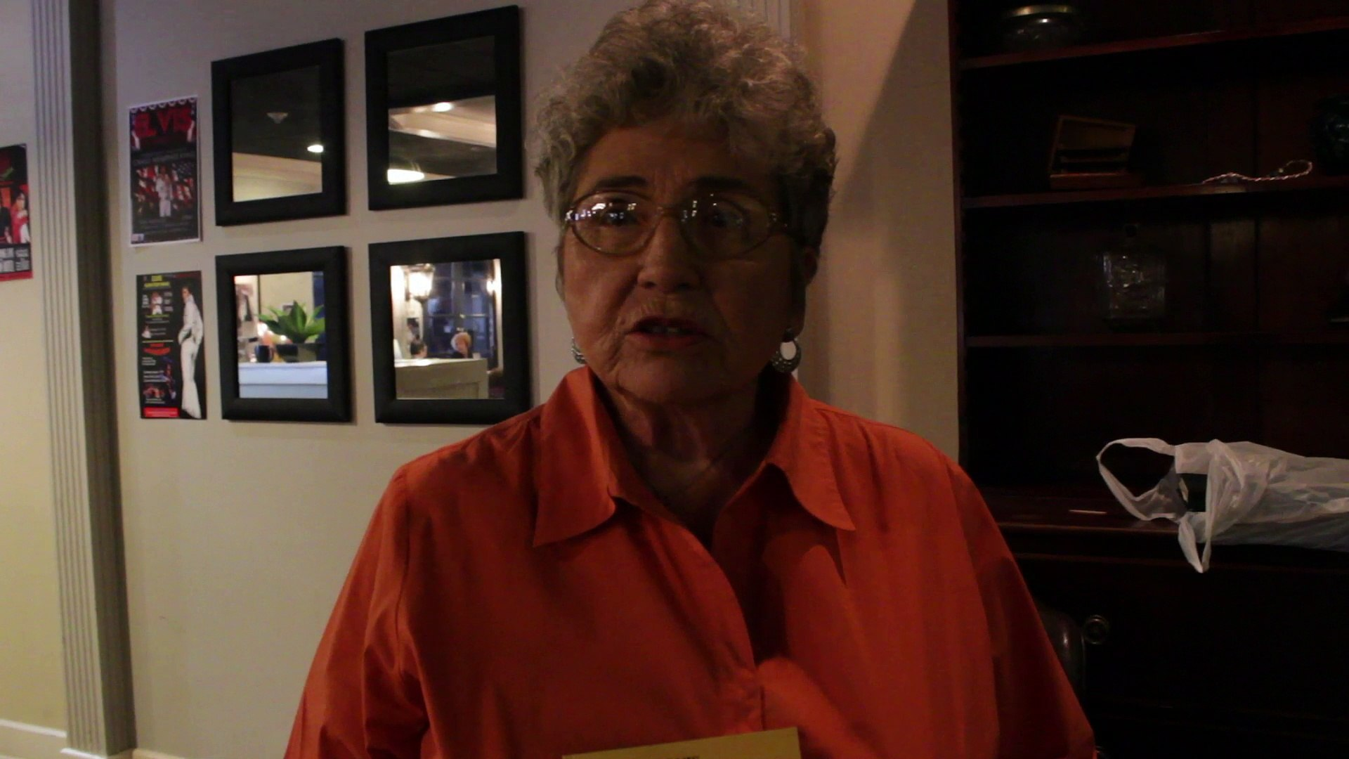 Blanche Jordan Scott interview on writing about Elvis Presley and George Klein 2014