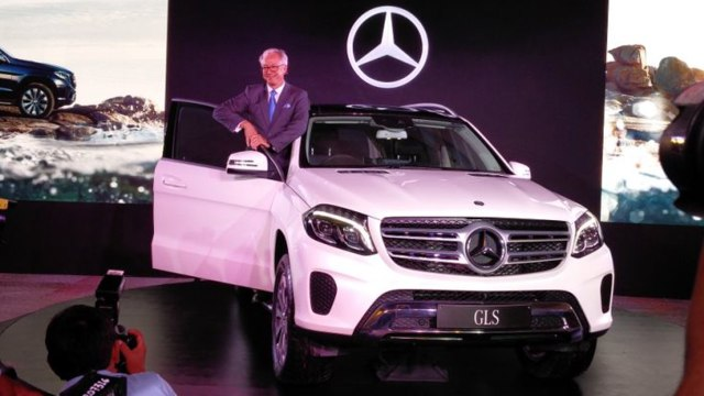 2017 Mercedes-Benz GLS Launched Price and Specifications