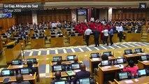 Violente bagarre au Parlement en Afrique du Sud