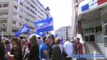 "Manifestation ""Haine anti flics"" à Toulon"