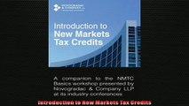 READ book  Introduction to New Markets Tax Credits  FREE BOOOK ONLINE