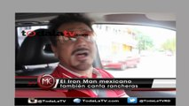 "CONOCE AL ""IRON MAN MEXICANO""-AL ROJO VIVO-VIDEO"
