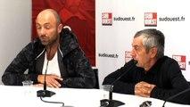 """Christophe Dugarry et Alain Giresse à Sud Ouest : """"Les Girondins de Bordeaux sont à un tournant très important"""""""